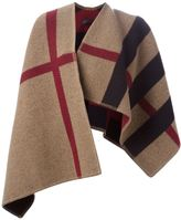 Burberry House Check woven shawl