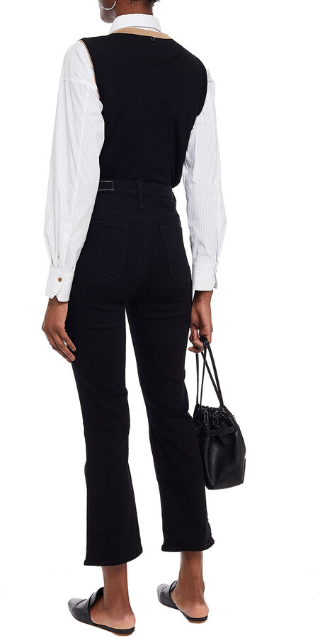 Thumbnail for your product : Rag & Bone High-rise Kick-flare Jeans