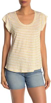 Sanctuary Ruby Linen Scoop Neck T-Shirt