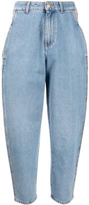 Chiara Ferragni Contrast-Trim Jeans