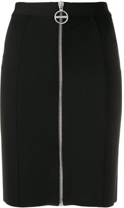 Givenchy High Rise Crepe Mini Skirt