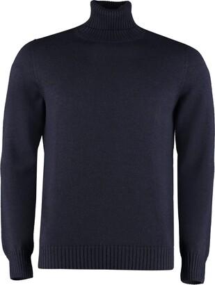 Drumohr Long Sleeve Wool Turtleneck