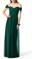 Dessy Collection Women's Ruched Chiffon Gown