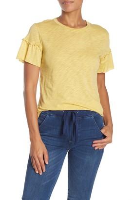 Elan International Ruffle Sleeve T-Shirt