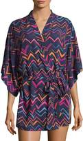 Josie Women's Valley Happy Printed Robe