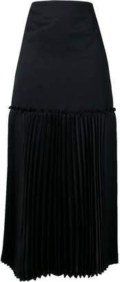 Comme des Garcons straight long skirt