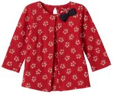 Baby Girl Jumping Beans Bow Glittery Pleated Tunic