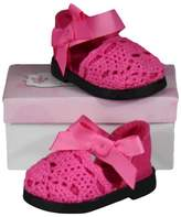 The Queen's Treasures® 18 Inch Doll Clothes Accessory, Pink Espadrille Sandal Plus Authentic Shoe Box