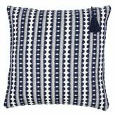 Lulu Ondine Ash Navy Stripe Cushion