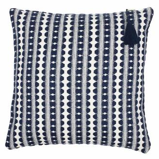 Lulu Navy Stripe Cushion