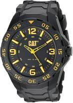 CAT WATCHES Men's LB11121137 Motion Analog Display Quartz Black Watch