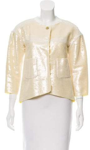 Chanel Embellished Sequined Jacket