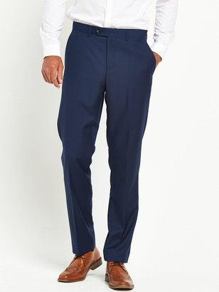 Skopes JossTapered Slim Fit Flat Front Trouser -Royal Blue