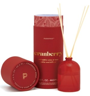 Paddywax Cranberry Scented Mini Reed Diffuser