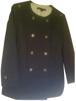 Marc by Marc Jacobs Blue Viscose Coats