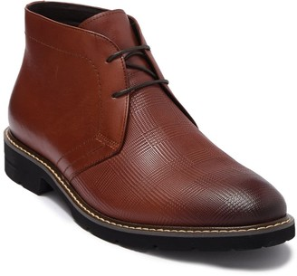 English Laundry Roger Leather Mid Chukka Boot