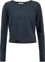 Autumn Cashmere Cropped cashmere sweater