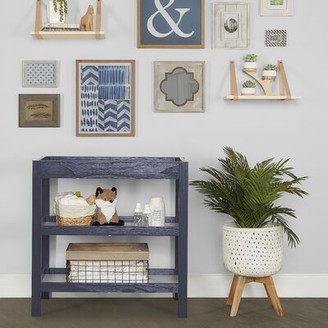Isabelle & Max Morita Changing Table Color: Navy