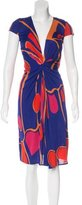 Issa Printed Midi Dress