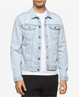 Calvin Klein Jeans Men's Clear Sky Denim Trucker Jacket