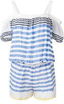 Lemlem striped playsuit - women - Cotton/Acrylic - XS