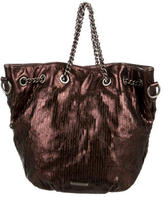 Rebecca Minkoff Distressed Leather Satchel