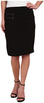 """Miraclebody Jeans Marcy Ponte 21"""" Skirt"""