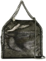 Stella McCartney Mini Tote Falabella 3 Chain Metallic Eco-leather