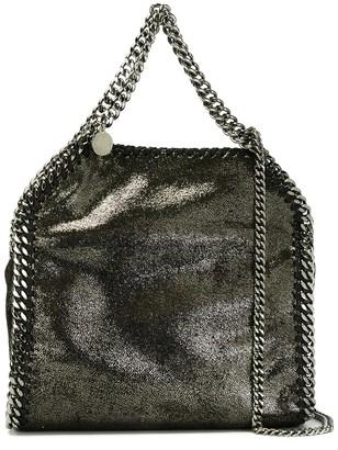 Stella McCartney Mini Tote Falabella 3 Chain Metallic Eco-leather