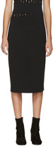 Proenza Schouler Black Slit Skirt