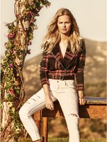 GUESS Women's Abbot Plaid Jacket