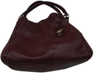 Diane von Furstenberg Burgundy Leather Handbags