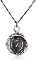 Pyrrha Unisex 925 Sterling Silver My Friend Talisman Necklace