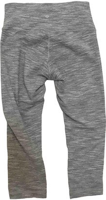 Lululemon Grey Cotton Trousers