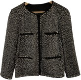 Chanel Grey Wool Jacket for Women