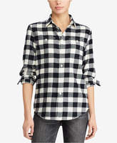 Polo Ralph Lauren Relaxed Fit Cotton Plaid Twill Shirt