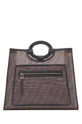 Fendi FF Runaway Monogram Tote Bag