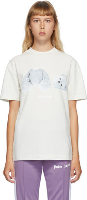 Palm Angels Off-White Ice Bear T-Shirt