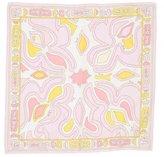 Emilio Pucci Abstract Print Twill Pocket Square