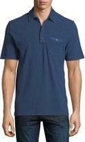 Michael Bastian Piqué-Knit Polo Shirt
