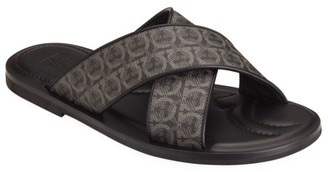 Salvatore Ferragamo Sion 3 Crisscross Logo Sandals