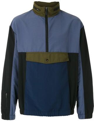 OSKLEN Colour-Block Sports Jacket