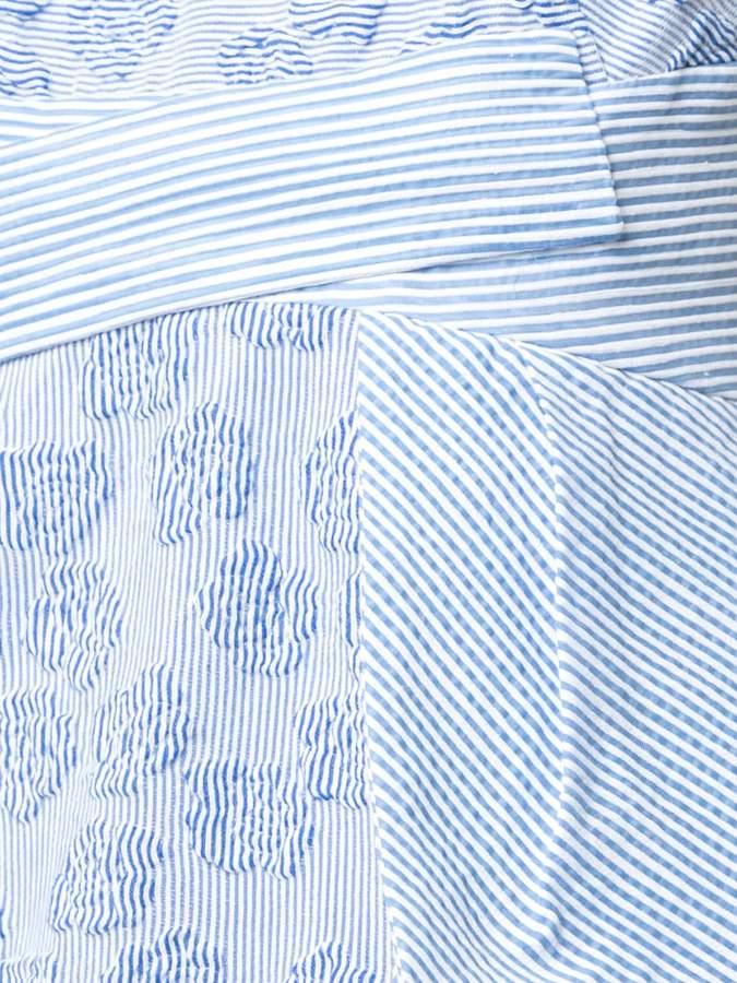 Kimora Lee Simmons dress with striped bow