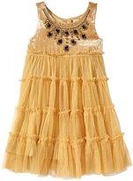 Cupcakes & Pastries Velvet Dress (Toddler/Kid) - Cream-7