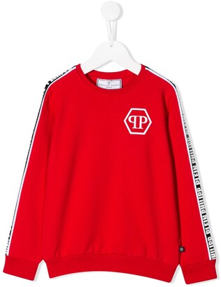 Philipp Plein Junior Logo Tape Sweatshirt