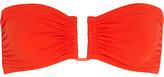 Eres Les Essentiels Show Bandeau Bikini Top - Tomato red