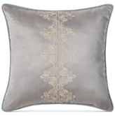 "Waterford Darcy Embroidered 18"" Square Decorative Pillow"