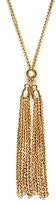 Bloomingdale's 14K Yellow Gold Double Tassel Necklace, 30 - 100% Exclusive