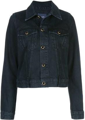 KHAITE Short Denim Jacket