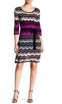 Taylor Knit A-Line Dress (Petite)